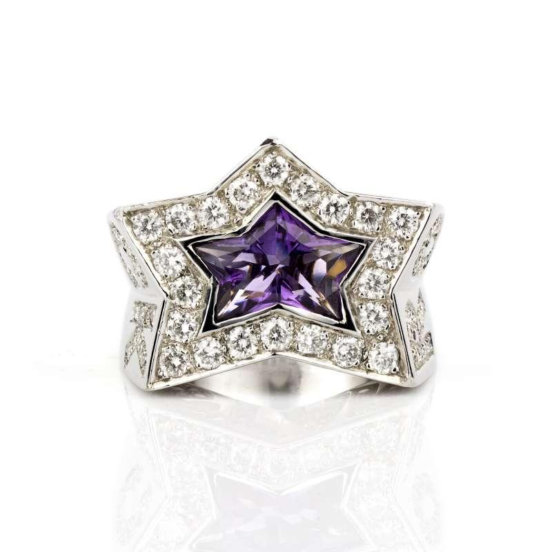 diamond rock star ring